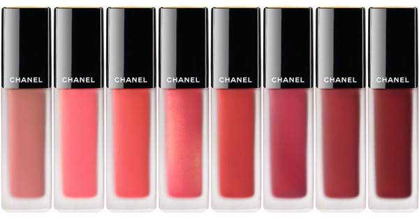 Новая коллекция жидких губных помад Chanel Rouge Allure Ink Lip Color Collection - оттенки