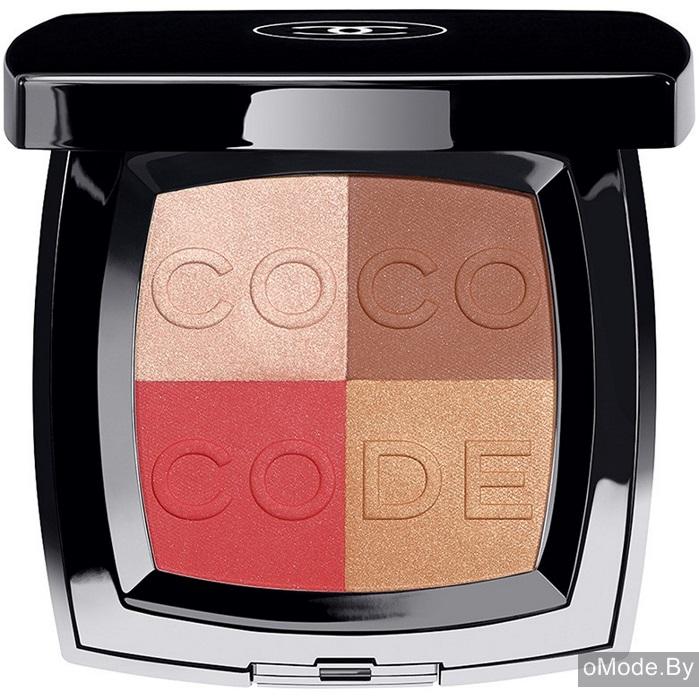 Четырехцветные румяна для лица Coco Code Harmonie de Blush (лимитированный выпуск)