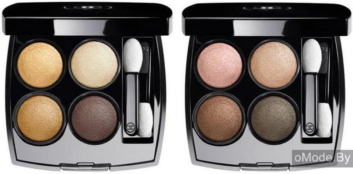 Четырехцветные тени для век Chanel Les 4 Ombres Eyeshadow Palette