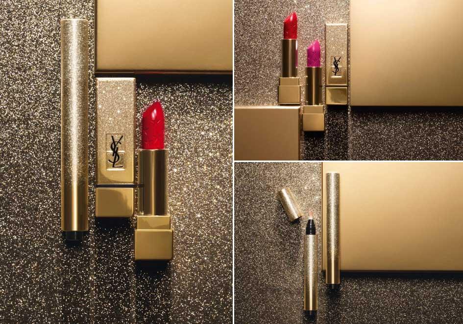 Рождественская коллекция макияжа Yves Saint Laurent Sparkle Clash Makeup Collection