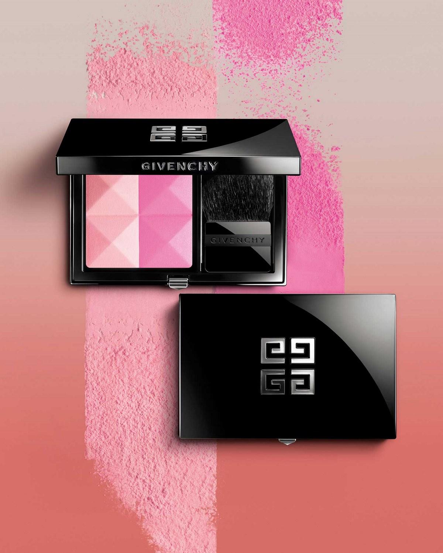 Новая коллекция компактных румян для лица Givenchy Prisme Blush Collection