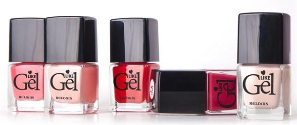 Лаки для ногтей с гелевым эффектом Relouis «Like Gel»