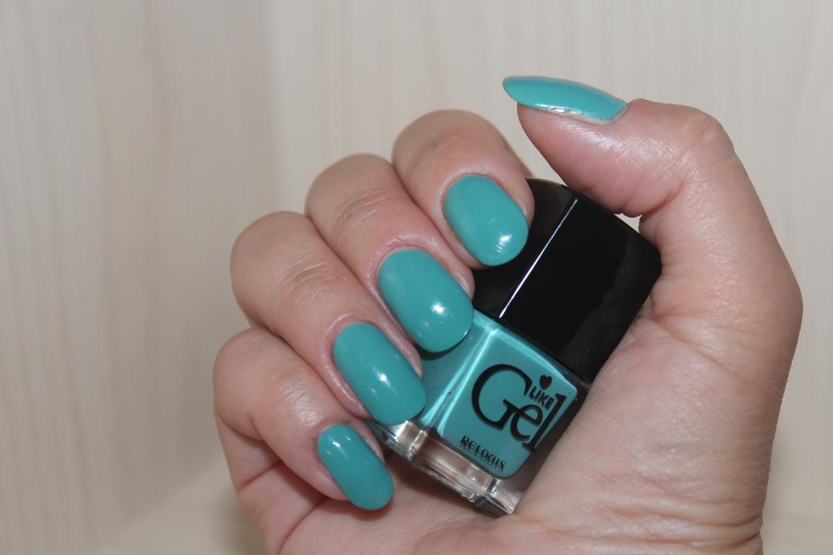 свотчи - лак для ногтей с гелевым эффектом Relouis «Like Gel» №10