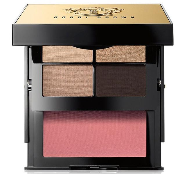 Роскошная палетка для макияжа глаз и щек Sultry Nude Eye & Cheek Palette