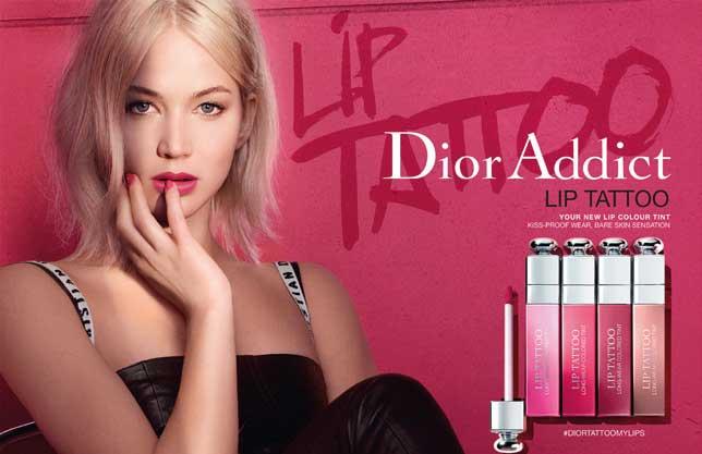 Новая коллекция тинтов для губ Dior Addict Lip Tattoo Collection