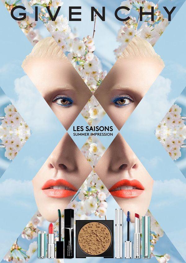 Летняя коллекция макияжа Givenchy Gypsophila Les Saisons Summer 2017