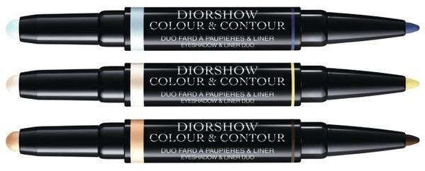 Двойное средство (кремовые тени - лайнер для глаз) Dior Diorshow Color & Contour Eyeshadow & Liner Duo