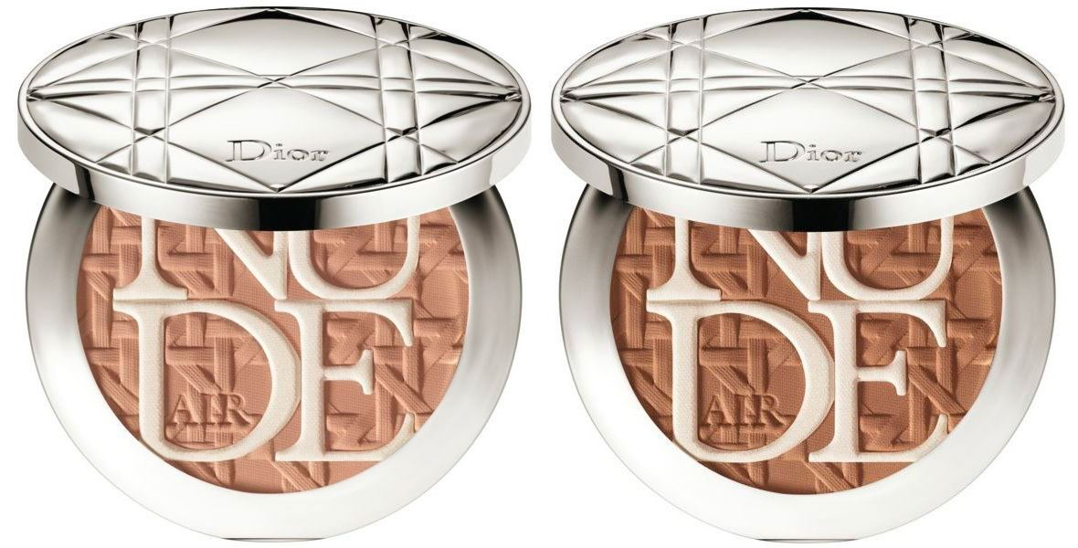 Бронзирующая пудра для лица Dior Diorskin Nude Air