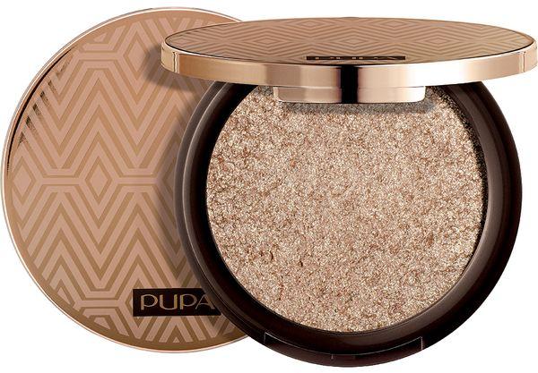 Сияющие тени для век PUPA Savanna 3D Eyeshadow