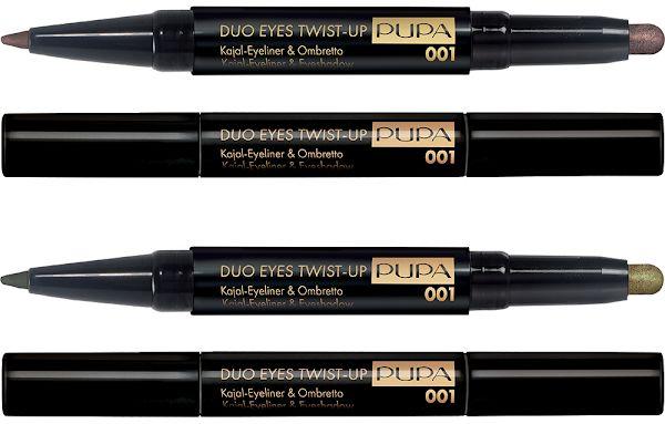Двойное средство для глаз (лайнер+кремовые тени) PUPA Savanna Duo Eyes Twist-Up