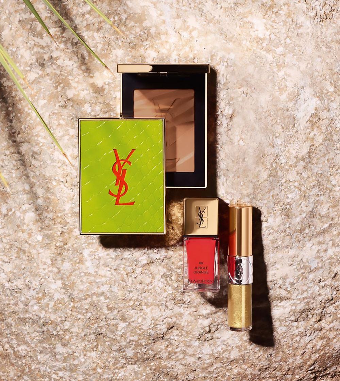 Летняя коллекция макияжа YSL Summer 2017 Solar Pop Collection
