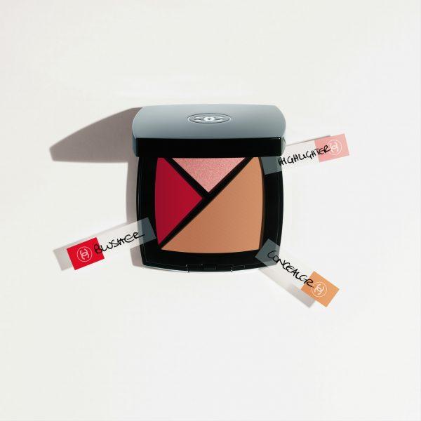 Универсальная палетка для лица 3 в 1 Chanel Palette Essentielle (новинка) (лимитированный выпуск)