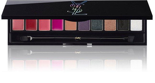 Палетка для макияжа глаз и губ YSL Night 54 Couture Variation Palette (лимитированный выпуск)