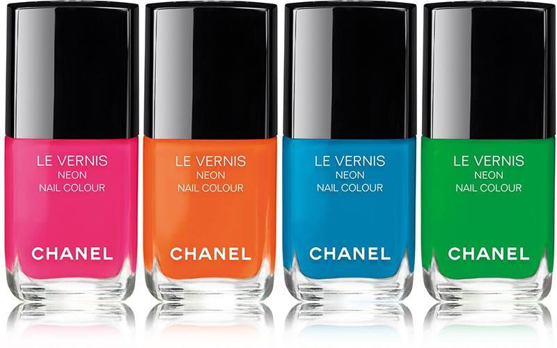 Устойчивый лак для ногтей Le Vernis (все тона неоновые)