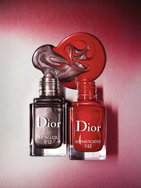 Осенняя коллекция макияжа Dior Metallics Fall 2017