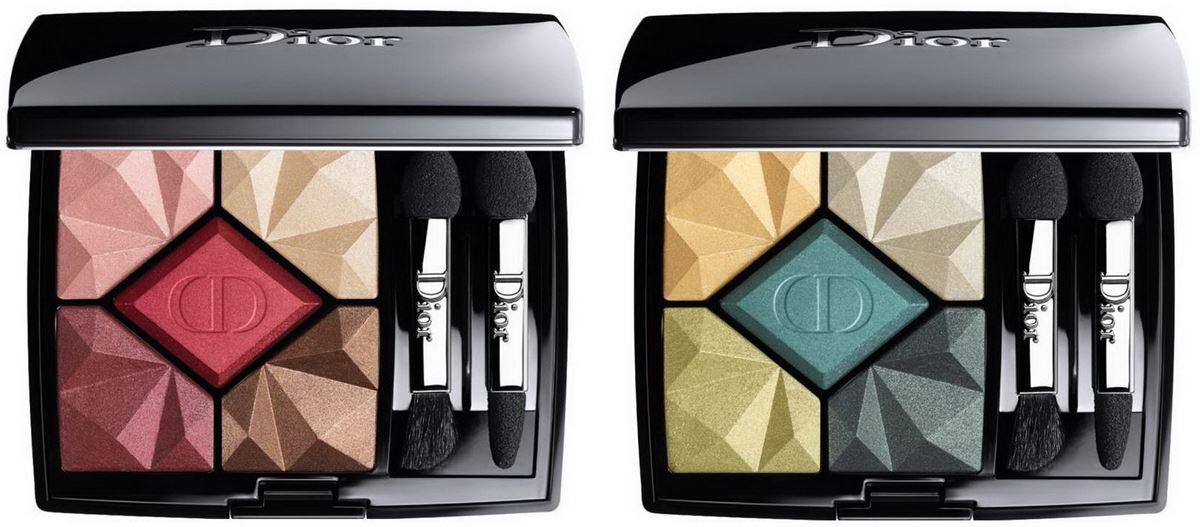 Пятицветные тени для век Dior Ruby 5-Colours Eyeshadow Palette (лимитированное издание)