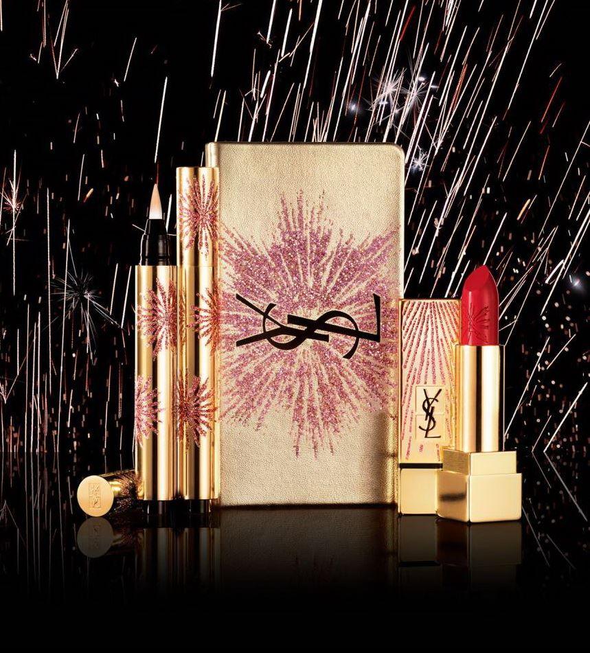 Рождественская коллекция макияжа YSL Dazzling Lights Holiday 2017