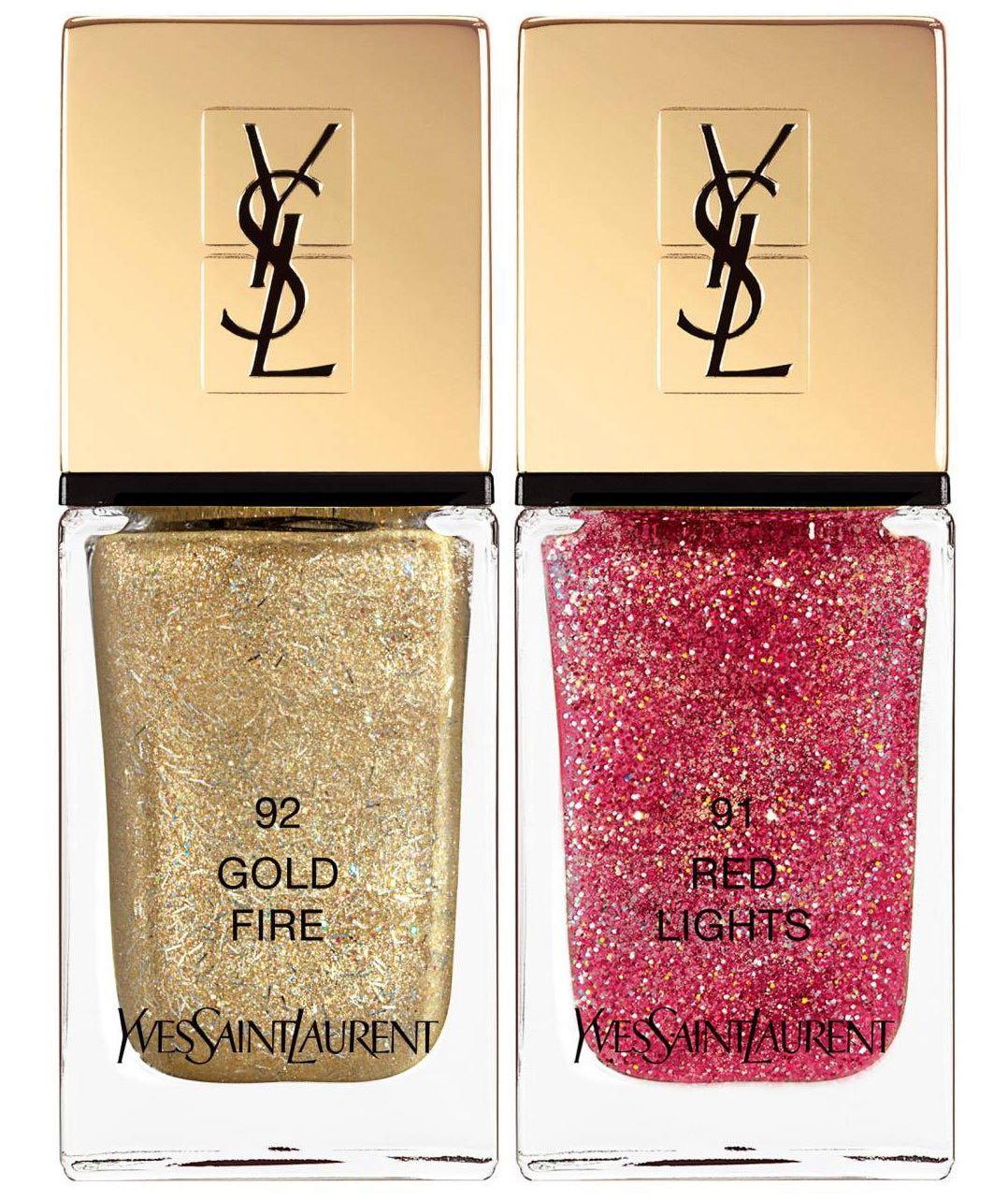 Устойчивый лак для ногтей YSL La Lacque Couture (лимитированный выпуск)