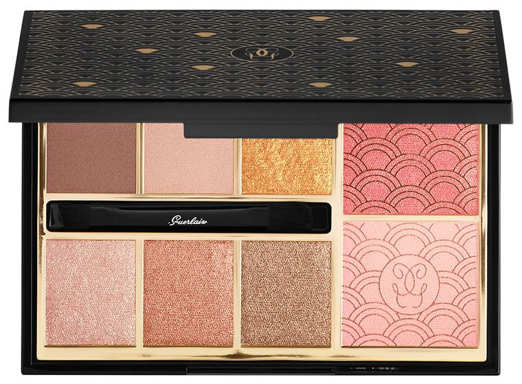 Палетка для макияжа Guerlain Gold Palette (лимитированный выпуск)