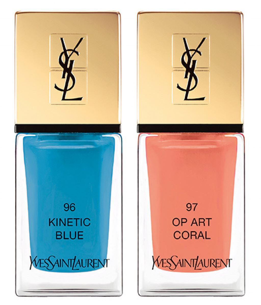 Устойчивый лак для ногтей YSL La Laque Couture (новые оттенки) (лимитированный выпуск)