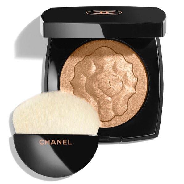 Пудровый хайлайтер Le Lion de Chanel Face Powder (лимитированное издание)