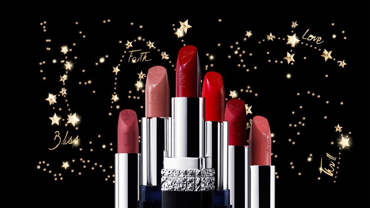 Рождественская коллекция макияжа Dior Midnight Wish Holiday 2018
